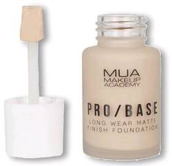 MUA PRO/BASE Long Wear Matte podkład 144 30ml
