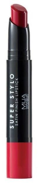 MUA Super Stylo Satin Finish Lipstick Pomadka do ust FIRST CLASS