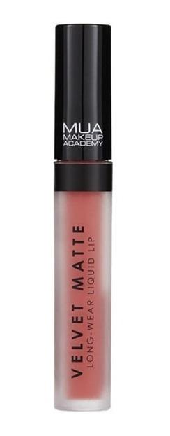 MUA Velvet Matte Liquid Lip Matowa pomadka w płynie HALCYON 3ml
