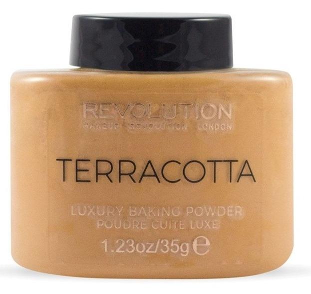 Makeup Revolution Baking Powder Terracotta Sypki puder do twarzy 35g