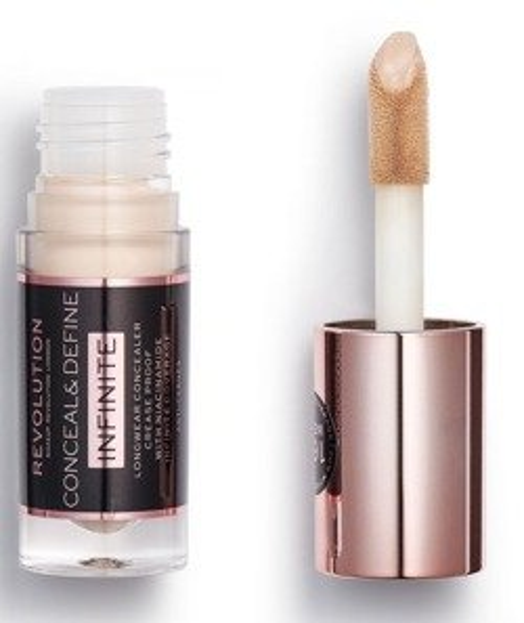Makeup Revolution Conceal&Define INFINITE concealer Korektor do twarzy i pod oczy C2.5 5ml