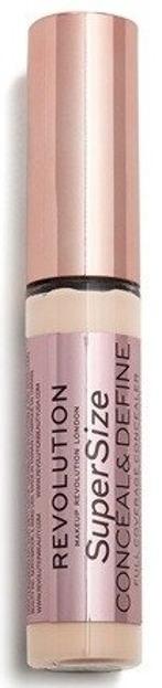 Makeup Revolution Conceal & Define SUPERSIZE Concealer Korektor do twarzy C2 13g