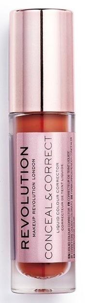 Makeup Revolution Conceal and Define Concealer RED Korektor do twarzy 3,4ml