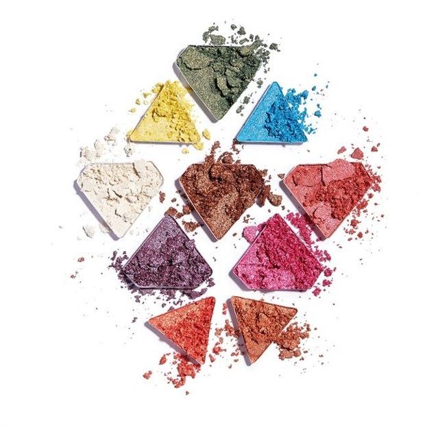 Makeup Revolution Diamond Bright Eyeshadow Palette Paleta cieni do powiek
