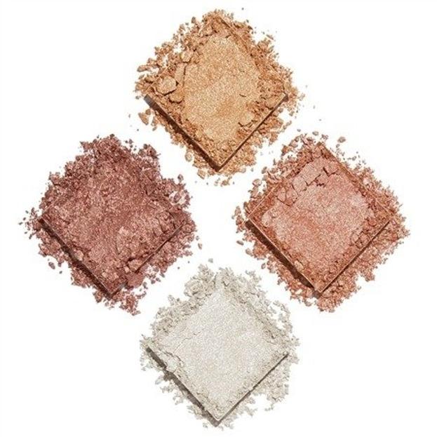 Makeup Revolution Face Quad Incandescent Paleta rozświetlaczy