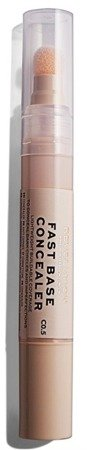 Makeup Revolution Fast Base Concealer Korektor pod oczy C0,5 4,5ml