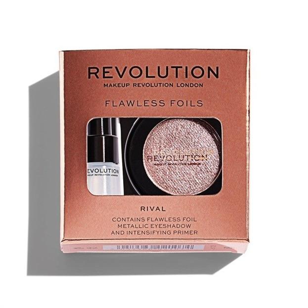 Makeup Revolution Flawless Foils Cień foliowy do powiek Rose Gold