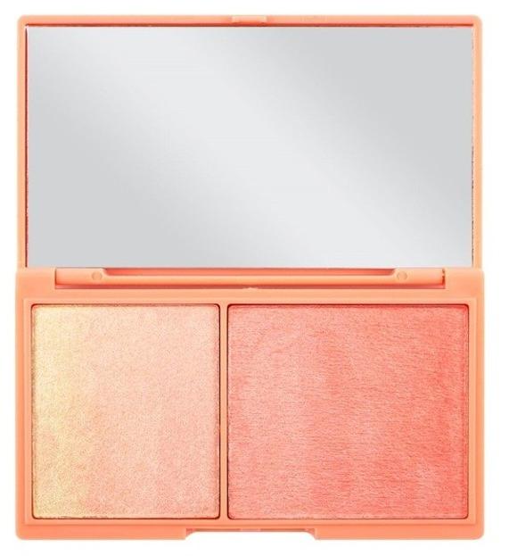 Makeup Revolution I Heart Makeup CZEKOLADKA  Peach And Glow Paletka do konturowania