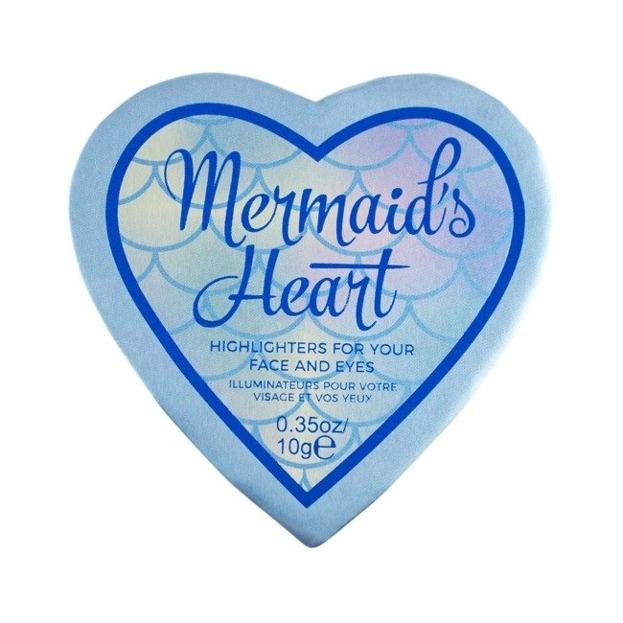 Makeup Revolution I Heart Makeup Mermaids Heart Rozświetlacz do twarzy
