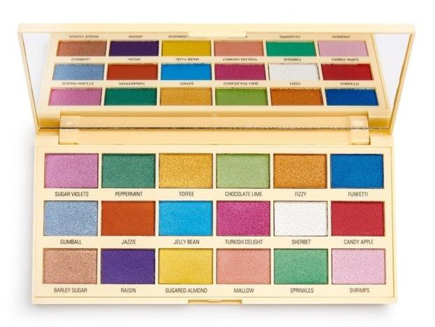 Makeup Revolution I Heart Revolution Sprinkles Chocolate Paletka cieni do powiek CZEKOLADA