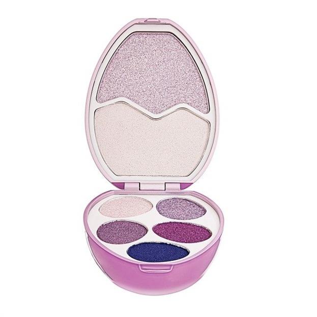 Makeup Revolution I love surprise Unicorn Zestaw cieni do powiek i rozświetlaczy
