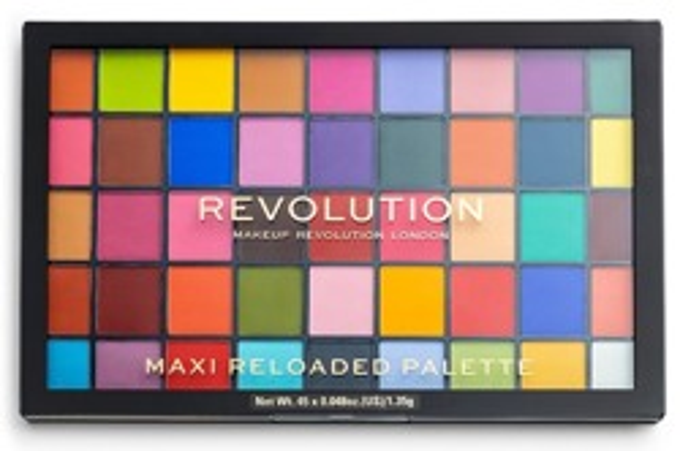Makeup Revolution MAXI ReLoaded Palette 45 Eyeshadow Monsters Mattes Paletka cieni do powiek