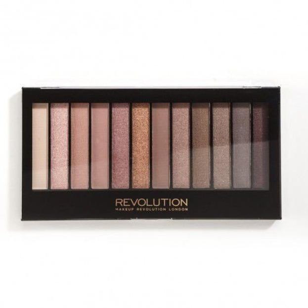 Makeup Revolution Redemption Palette Paleta 12 cieni do powiek Iconic 3