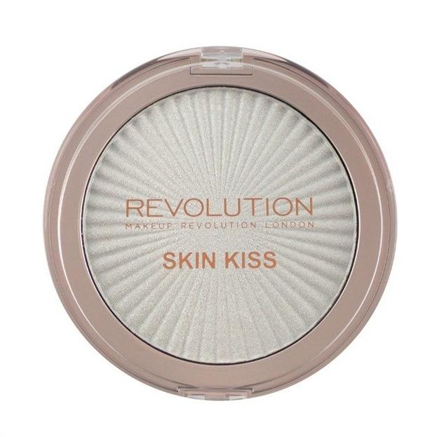Makeup Revolution Skin Kiss Frozen Kiss Highlighter Rozświetlacz do twarzy 14g