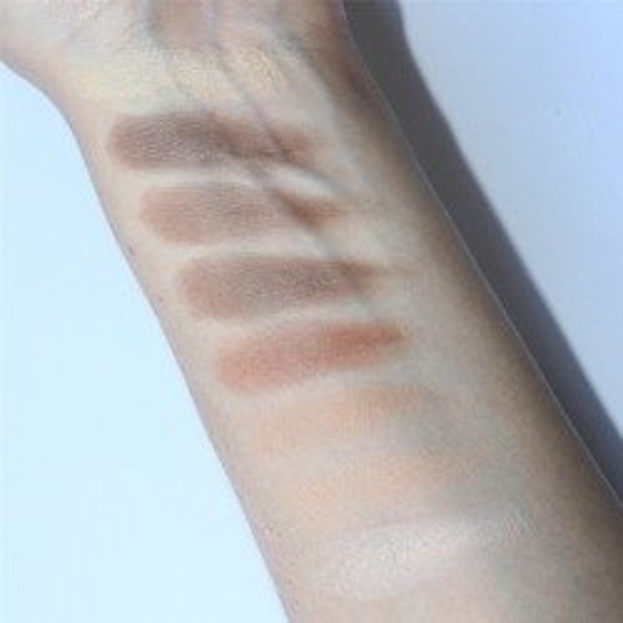 Makeup Revolution Ultra Powder Contour Light Medium - Zestaw do konturowania twarzy