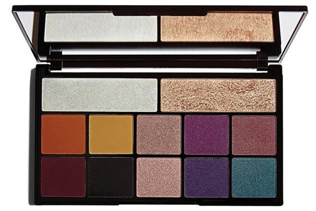Makeup Revolution X Carmi Kiss Of Fire Palette Paleta cieni do powiek
