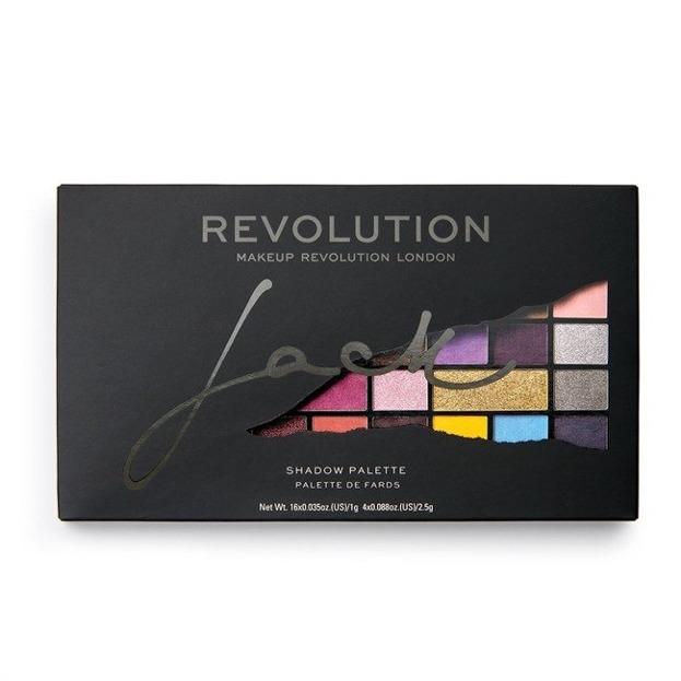 Makeup Revolution X Jack Shadow Palette Paleta cieni do powiek