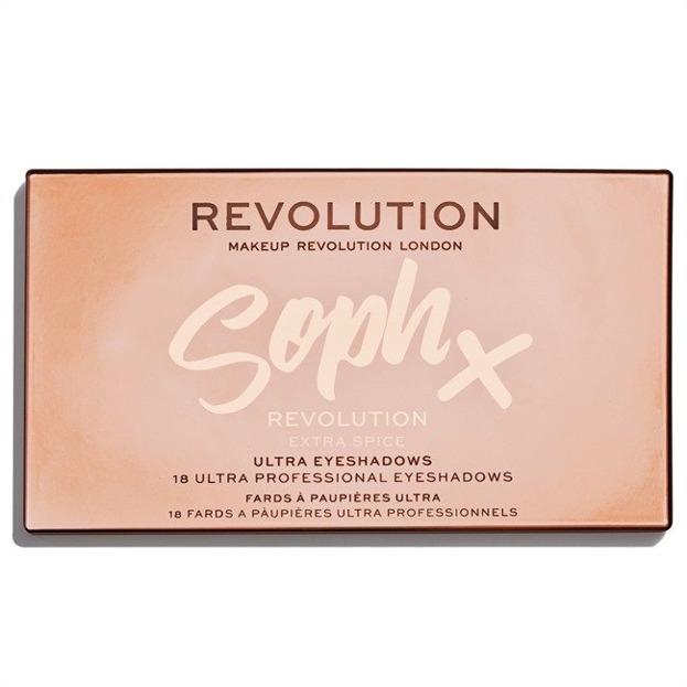 Makeup Revolution X Soph Extra Spice Paleta cieni do powiek