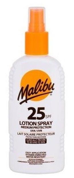 Malibu Lotion Spray Medium Protection 25SPF Spray do opalania 200ml