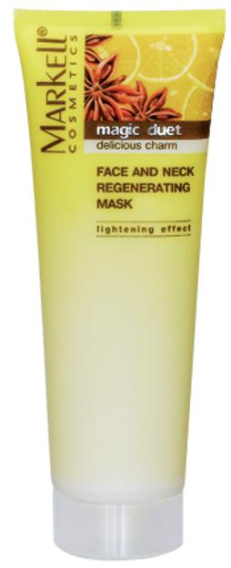 Markell Maska do twarzy i szyi regenerująca 115g