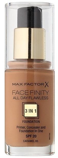Max Factor Facefinity Foundation Fluid Podkład do twarzy 85 Caramel 30ml