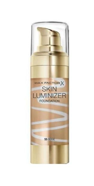 Max Factor Skin Luminizer Foundation - Podkład rozświetlający 55 Beige, 30 ml