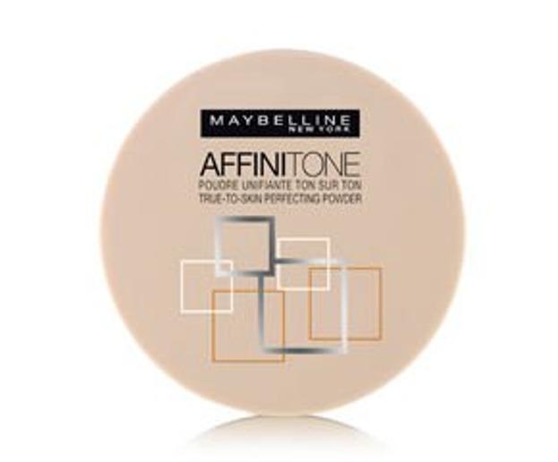 Maybelline Affinitone Pressed powder Prasowany puder 3 Light sand