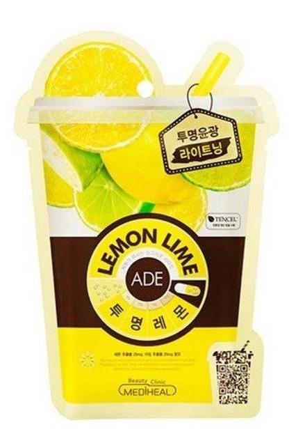 Mediheal Lemon Ada Rozjaśniajaca maska w płachcie z cytryną