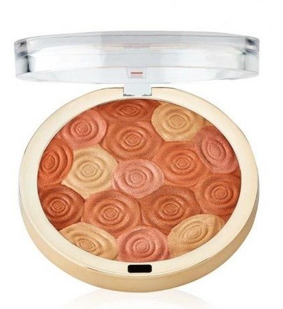 Milani Illuminating Face Powder - Puder rozświetlający 02 Hermosa Rose