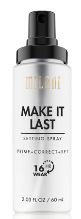 Milani Make It Last Setting Spray Spray utrwalający do twarzy 60ml