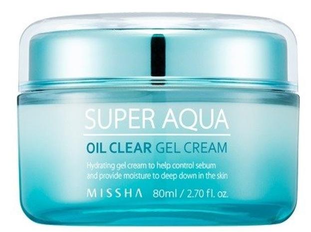 Missha Super Aqua Oil Clear Gel Cream Nawilżajacy żel-krem do twarzy 70ml