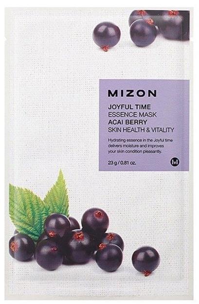 Mizon Joyful Time Essence Mask Acai Berry Rewitalizująca maska w płachcie 23g