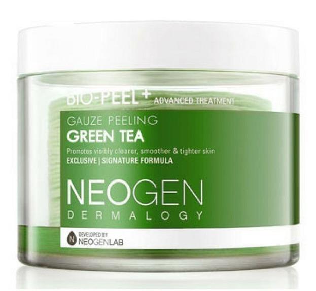 NEOGEN Bio-Peel Gauze Peeling Green Tea Płatki złuszczające z ekstraktem z zielonej herbaty 30szt