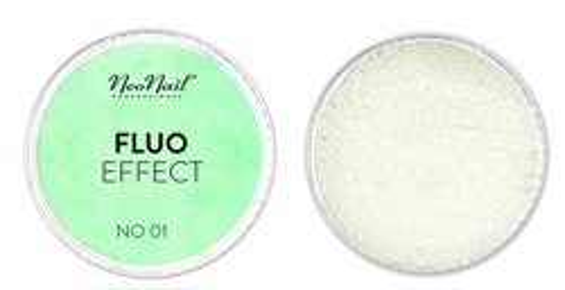 NEONAIL Fluo Effect Pyłek do paznokci 5399-1