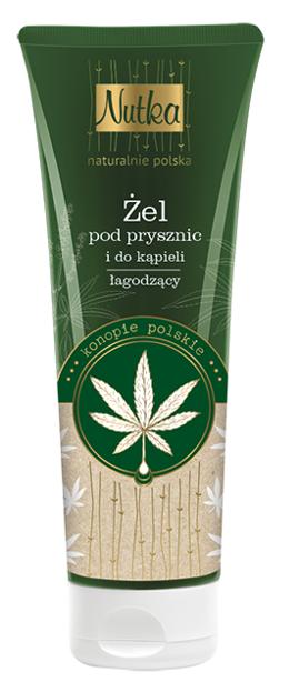 NUTKA Żel pod prysznic i do kąpieli Konopie polskie 222ml