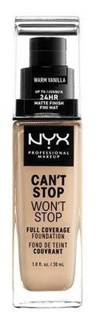 NYX Can't Stop Won't Stop Długotrwały podkład kryjący 06,3 Warm vanilla 30ml
