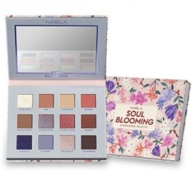 Nabla Soul Blooming Eyeshadow Palette Paleta cieni