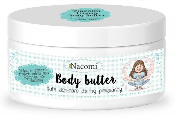 Nacomi CIĄŻA Lekkie kremowe masło do ciała dla kobiet w ciąży 100ml