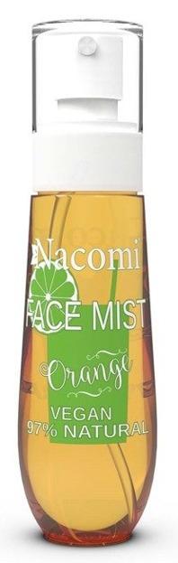 Nacomi Face Mist Orange Mgiełka do ciała i twarzy Pomarańcza 80ml