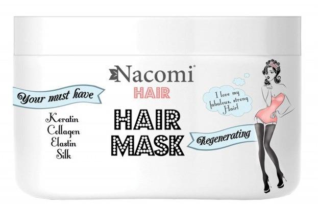 Nacomi Maska Odżywczo-Regenerująca do włosów 200ml