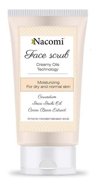 Nacomi Peeling do twarzy nawilżający, 75 ml