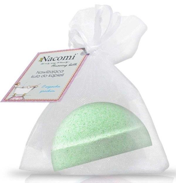 Nacomi Półkula musująca do kąpieli o zapachu zielonej herbaty 65g