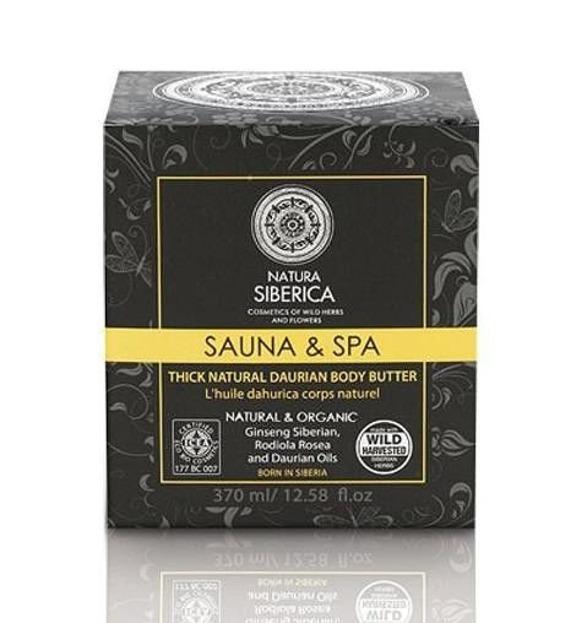 Natura Siberica Daurskie masło do ciała Sauna&Spa, 370 ml
