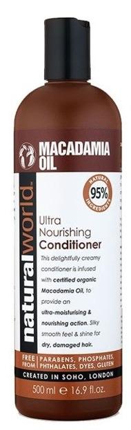 Natural World Macadamia Oil Conditioner Odżywka do włosów 500ml