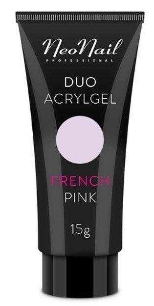 Neonail Duo Acrylgel French Pink Żel do budowania i przedłużania paznokci 15g