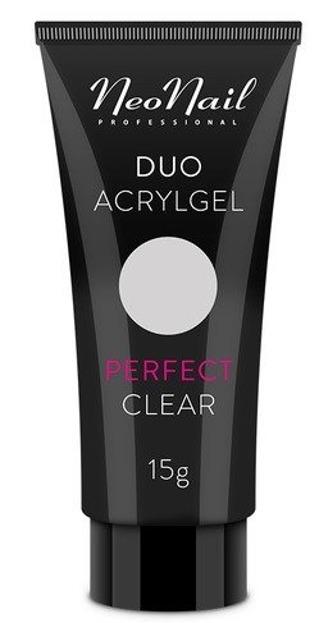 Neonail Duo Acrylgel Perfect Clear Żel do budowania i przedłużania paznokci 15g