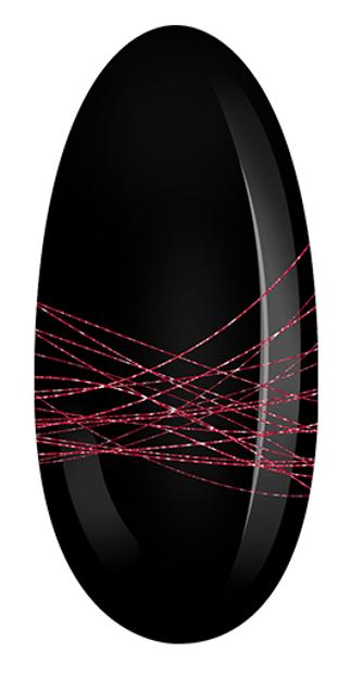 Neonail  Spider Gel Żel do zdobień RED 5ml