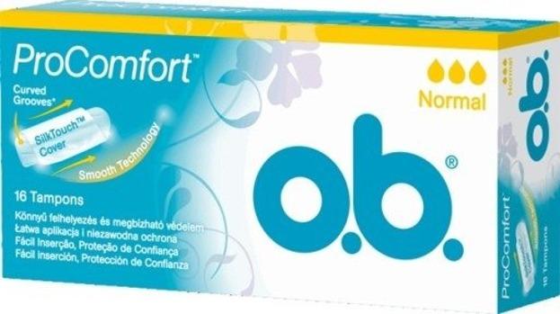 O.B. Pro Comfort Tampony Normal 16szt