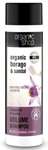 Organic Shop Skarb Sri - Lanki - Szampon do włosów dodający objętości 280 ml