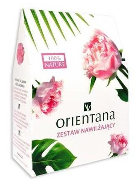 Orientana Zestaw 2020 Róża Japońska Tonik + Masło do ciała + Maska pod oczy